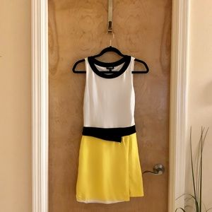 bebe Retro Style Dress